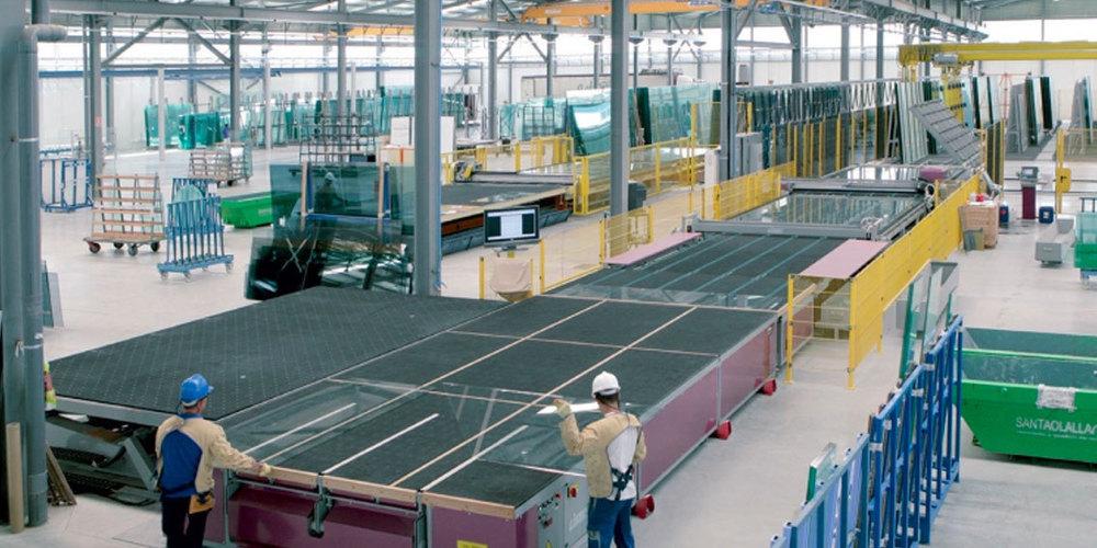 Interior de Industrias Luque
