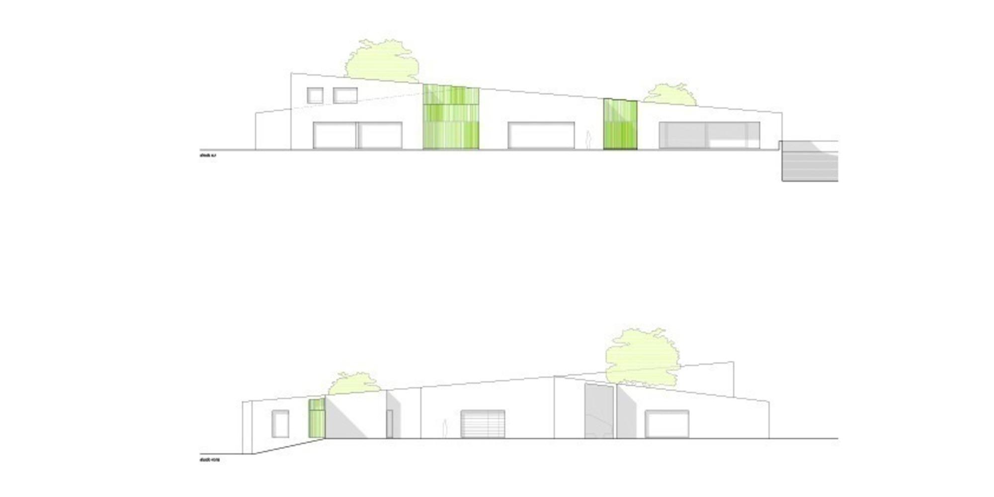 Proyecto Casa Caro diseño mano alzada